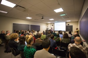 image of Gerry Sussman presentation at CUNY
